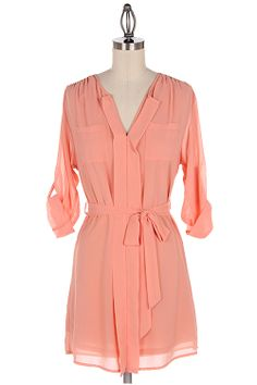 Ashley Shirt Tunic in Sweet Nectar | Awesome Selection of Chic Fashion Jewelry | Emma Stine Limited