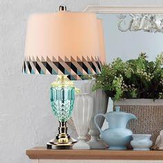 Средиземноморский простой в Европейском стиле спальня лампа прикроватная лампа современный простой лампы творческий настольная лампа abajur пункт кварто купить на AliExpress
