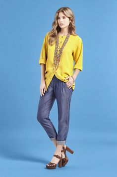 Flared Fair Trade Tencel Jeans