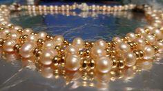 I used Akoya Pearls!