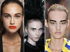 Spring/ Summer 2014 Makeup Trend: Bushy Eyebrows  #makeup #beauty #trends