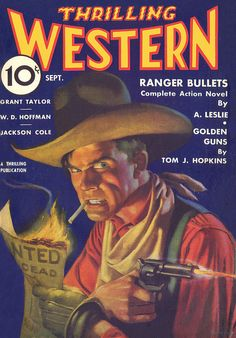 Thrilling Western [1935-09] cover