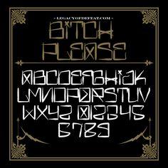 069 - New Hydro74 Typefaces by Joshua M. Smith, via Behance
