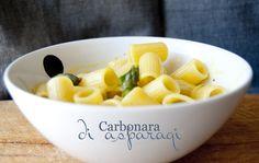 L'alternativa #vegetariana a un classico della cucina romana: carbonara di asparagi   L'idea Pellegrina foodblog