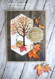 I think the fall season is around the corner. And it is time to start making Christmas cards soon. But before get crazy season to make Christmas cards, wanted to… Christmas Cards To Make, Holiday Cards, Thanksgiving Greeting Cards, Pumpkin Cards, Stamping Up Cards, Halloween Cards, Creative Cards, Homemade Cards, Making Ideas