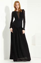 Burberry Prorsum Jersey Gown