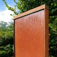 Corten Steel Water Features & Fountains: Choose from a great range at the best prices. Backyard Water Feature, Water Features In The Garden, Garden Fountains, Corten Steel, Steel Water, Ponds, Diy Garden Fountains, Yard Water Fountains, Water Feature