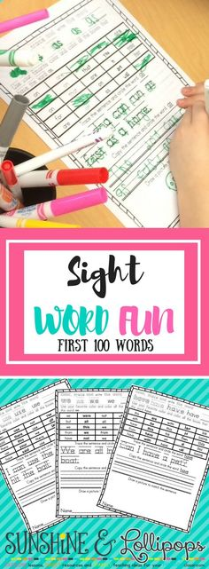 Learning Sight words are so important for all readers, but especially emergent readers. They help build confidence and fluency. Check out this great resource that promotes fun while learning!