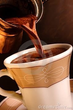 Turkish coffee recipe at http://www.turkishstylegroundcoffee.com/turkish-coffee-recipe/ #turkishcoffee #turkishcoffeerecipe