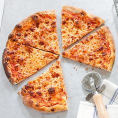 Thin-Crust Pizza by Cook's Illustrated