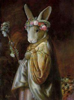 Pinzellades al món: Les animals versions il·lustrades de Melinda Cooper Art And Illustration, Illustrations, Fantasy Kunst, Fantasy Art, Lapin Art, Rabbit Art, Bunny Rabbit, Bunny Art, Funny Bunnies