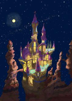 One of my fairy castles. #fairy castle #fantasy #fairy #castle