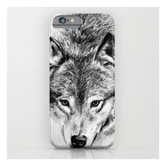 Wolf iPhone & iPod Case ($35) ❤ liked on Polyvore featuring accessories, tech accessories, phone cases, phone, phonecases, tech and iphone & ipod cases