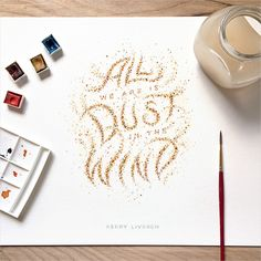 MicroQuotes - mini lettering series by DANGERDUST