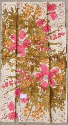 Vera Neumann tea towel