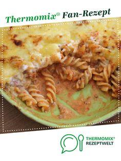 Fruchtig scharfer Nudelauflauf von raptor321. Ein Thermomix ® Rezept aus der Kategorie Hauptgerichte mit Fleisch auf www.rezeptwelt.de, der Thermomix ® Community.