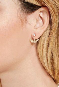 Accessories - Jewelry - Earrings - Earcuffs + Pins | WOMEN | Forever 21