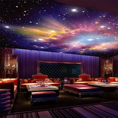 Cheap wallpaper car, Buy Quality wallpaper collection directly from China wallpaper Suppliers: Custom Mural 3D Star Nebula Night Sky Wall Painting Ceiling Smallpox Wallpaper Bedroom Sofa TV Background Galaxy Photo Wallpaper