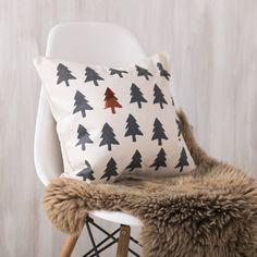Copper Christmas Tree Cushion