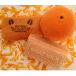 Do you suffer with acne or oily skin? Orange Ray Goat Milk Soap from Hineni Farms is all you need to clear up your skin. We have added fresh orange zest and orange essential to to our original goat milk soap recipe to create a fabulous, all natural, goat milk soap that clears up acne and oily skin without harsh chemicals and all without drying out your skin. Our Orange Ray Goat Milk Soap will leave your skin clear, clean, fresh and moisturized.