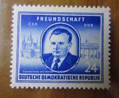 EBS-East-Germany-DDR-1952-Klement-Gottwald-MNH-Michel-302