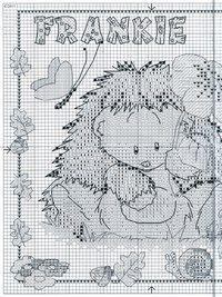 Woodland Folk схемы вышивки | Схемы с мишками Tatty Teddy и его друзьями