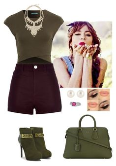 """Sem título #1295"" by leonettalover07 ❤ liked on Polyvore featuring River Island, Express, CHARLES & KEITH, Gemvara, Henri Bendel, Bally, women's clothing, women, female and woman"