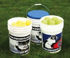 JUGS Michele Smith Ball Bucket with Lid - http://www.closeoutball.com/softball-closeout-sale-discount-free-shipping/jugs-michele-smith-ball-bucket-with-lid/