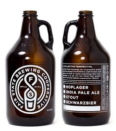 Fair State Brewing Cooperative Growlers