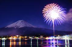 Mt.fuji  Firework