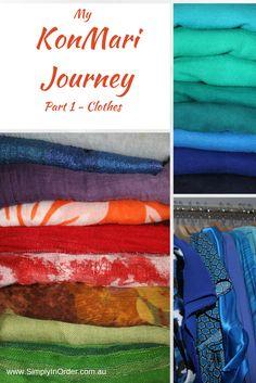My KonMari Journey Part 1 - Declutter the wardrobe using Marie Kondo's method