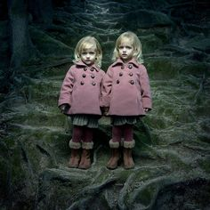 twins that look a bit scary!!