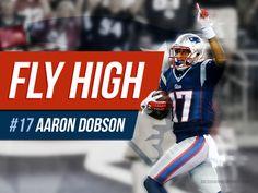 Aaron Dobson, New England Patriots @ designingsport.com