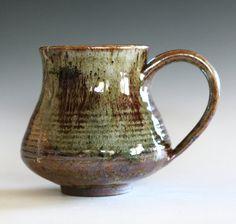 Gran taza de café taza de café taza de té 18 oz taza por ocpottery