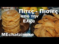 Cypriot pies with honey Cypriot Food, Greece Food, Greek Recipes, Confectionery, Pancakes, Sweets, Snacks, Breakfast, Desserts