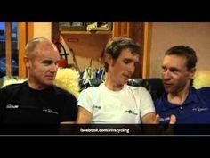Stuart O'Grady, Andy Schleck, Jens Voigt hilarious interview