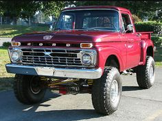 66 Ford F-100 4x4