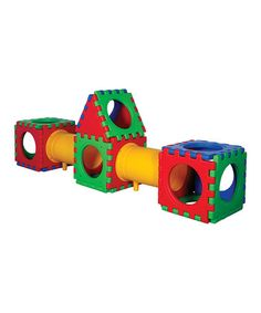 Take a look at this Tunnel Cube 23-Piece Set by ECR4Kids on #zulily today!