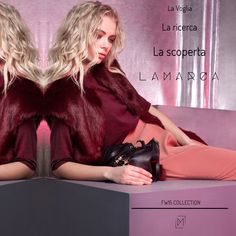 Your Personality Is The Product...The Desire The Research  The Discovery =LAMARCA  #new #collection #fw #madeinitaly #desire #research #discovery #italian #fashion #brand #cometovisitus #website www.lamarcaofficial.com