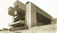 Heroico Colegio Militar, Mexico City, 1975 Architects: Agustin Hernandez and Manuel Gonzales Rul