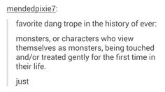 Honestly I use this trope in pretty much every single story I write it is my ever favorite Creative Writing Prompts, Book Writing Tips, Writing Art, Writing Quotes, Writing Help, Writing Ideas, Otp Prompts, Dialogue Prompts, Story Prompts