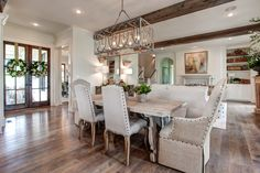 62 trendy home design plans southern living dining rooms Southern Living Homes, Southern House Plans, Country Farmhouse Decor, Primitive Country, Modern Farmhouse, Country Style Homes, Home Design Plans, Trendy Home, Home Decor Styles