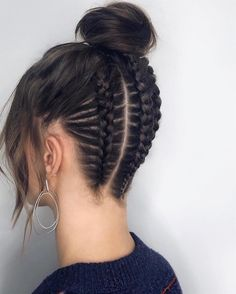 Homecoming Hairstyles - Back To School Prom Hairstyles Black Blaided Updos - Site To . - Homecoming Hairstyles – Back To School Prom Hairstyles Black Blaided Updos – Site Today – Hom - Pretty Braided Hairstyles, Prom Hairstyles For Long Hair, Homecoming Hairstyles, Braids For Long Hair, Elegant Hairstyles, Hairstyles For School, Messy Hairstyles, Black Hairstyles, Box Braids