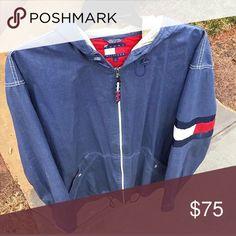 5b5e924dc9f90 Tommy Hilfiger jacket Very comfortable tommy zip up Tommy Hilfiger Jackets    Coats