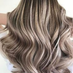 Ashy coolness. Color by @stephanievizzahair #hair #hairenvy #hairstyles #haircolor #ash #ashblonde #bronde #balayage #highlights #newandnow #inspiration #maneinterest