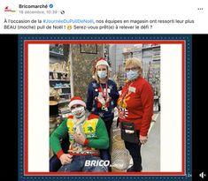 Journée du pull de Noël Bricomarché Baseball Cards, Sports, Hs Sports, Sport