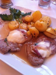 Veal scaloppine