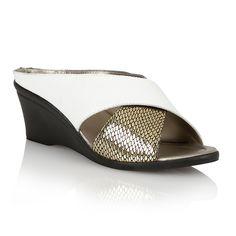 Lotus Trino casual sandals, White