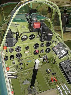零戦操縦席 Zero Cockpit