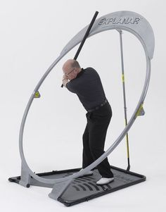 Train key golfing muscles for improved strength and flexibility with the home golf swing training aid by Explanar